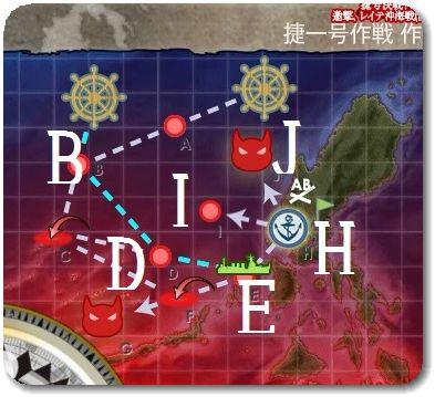 2017秋イベE3マップ 輸送ゲージ